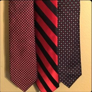 Tommy Hilfiger Neck Ties Lot Of 3